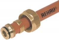 Raccord tube diamètre16x1,5 visser REHAU CHAUFFAGE