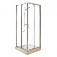 Cabine douche TIPICA-A 080 T/ARG IDEAL STANDARD