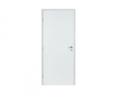 Bloc-porte griff inox laqué blanc H50 rive droite PDDT 73 droite DMBP DISTRI MAT. BOIS-PANNEAUX
