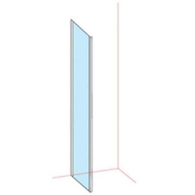 Paroi fixe basic largeur 76/79 verre transparent BASIC SEGMENT