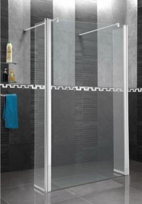 Paroi de douche verre transparent largeur 97/99 BASIC SEGMENT
