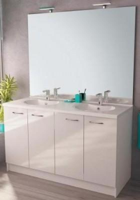 meuble bas 120cm 3 portes plan postform blanc h tre multi neova rennes 35920 d stockage. Black Bedroom Furniture Sets. Home Design Ideas