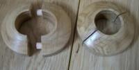 Sachet de rondelles chêne couvre-tuyau