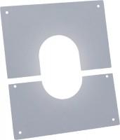 Plaque de propreté 30/40 inox