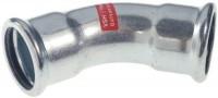 Coude 45° VHS femelle/femelle diamètre 88,9mm COMAP