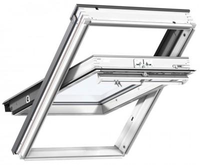 fen tre rotation ggl mk08 2076 white finish confort velux nevers 58027 d stockage habitat. Black Bedroom Furniture Sets. Home Design Ideas