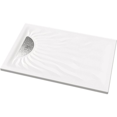 Receveur Embruns ultra-plat à poser 120x90cm blanc ALLIA