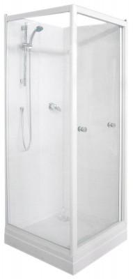 cabine de douche primeo 80x80cm avec porte mi pivotante mi coulissante saint nazaire 44600. Black Bedroom Furniture Sets. Home Design Ideas
