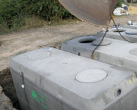 Cuve CAPTECO 4000l béton enterrée BONNA SABLA