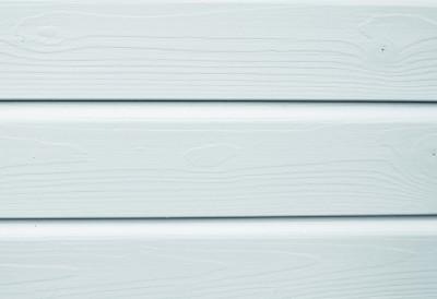 Bardage bois BARDACOLOR peinture blanc pur 21x122x4500mm colis de 5 soit 2.745m2