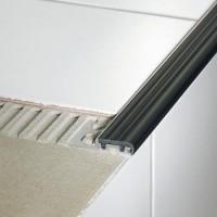 Profile de marche TREP-S aluminium 26mm beige clair 2,5m hauteur 10mm