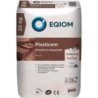 Ciment à maçonner Plasticem MC 12,5 Sac 25kg Rochefort EQIOM