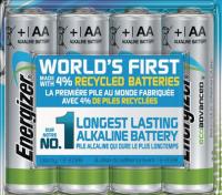 Pile AA LR6 1.5V alcaline éco  B4 ENERGIE DISTRIBUTION SA