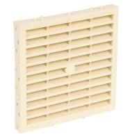 Grille d'aération spécial façade SCEL à combinaison RACCORDS & PLASTIQUES NICOLL