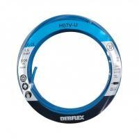 Fil rigide HO7V-U 1,5 10m bleu DEBFLEX SA