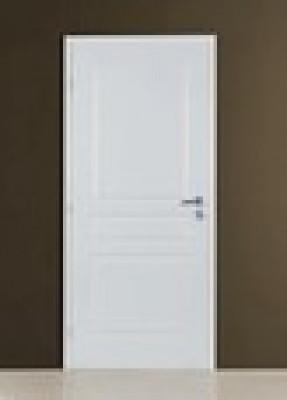 bloc porte alv olaire 110 pr peint huisserie 90 n olys recouvrement p ne dormant demi tour 83cm. Black Bedroom Furniture Sets. Home Design Ideas
