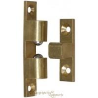 Loqueteau 2 billes laiton 50x9mm (2) INTERGES.COM