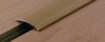 Seuil PRESTO aluminium hêtre 30x830mm