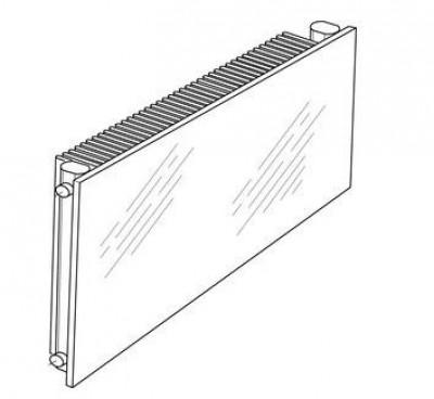 Radiateur ALTIMA horizontal spl eau chaude ACOVA