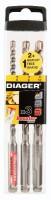 Foret 160mm BOOSTER SDS+ pack DIG - DIAGER