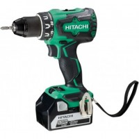 Perceuse visseuse 18V 5Ah 3 batteries liion induction HITACHI