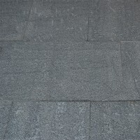 Dalle granit flammée 40x60x3cm noir 16,32m2 GONMA
