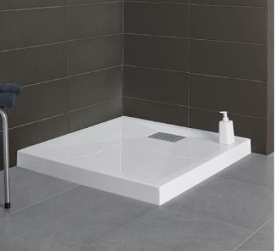 Receveur KINESURF blanc 80x80x9cm
