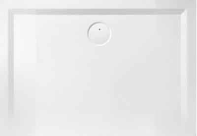 Receveur rectangulaire SPACE MINERAL 80x110cm blanc LEDA FRANCE