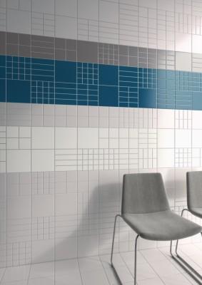 Gr s maill nova arquitectura blanc 20x20cm cinca for Destockage carrelage nord