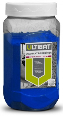 colorant pour b ton bleu ultibat 550g sika ch teau thierry 02400 d stockage habitat. Black Bedroom Furniture Sets. Home Design Ideas