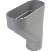 Jambonneau sable pour tube de descente diamètre 80mm NICOLL