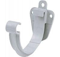 Support gouttière gris demi ronde DEV25 2ml
