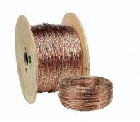 Cablette cuivre pour mise à la terre 25mm2 50m