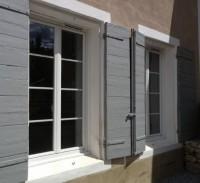 Porte fenêtre PVC 2vantaux 1560x2034mm BOUVET