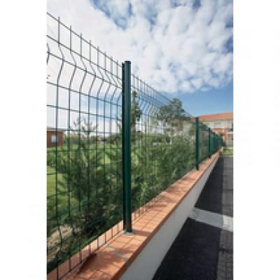 Panneau axis s m100x50 vert dimensions 2 48x1 00m dirickx for Cloture axis dirickx