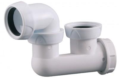 Siphon de baignoire plastique orientable VALENTIN
