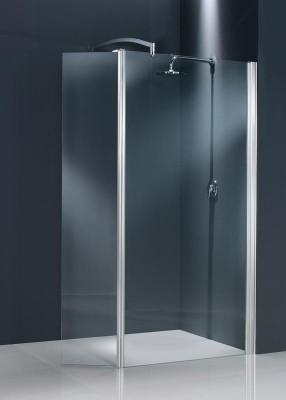 Paroi de douche fixe+mobile DOMINO 35cm