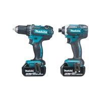 Ensemble de 2 machines (DDF482 perceuse visseuse + DTD152) MAKITA
