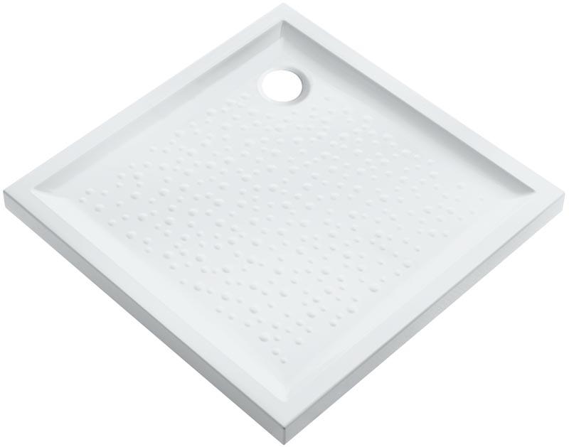 Receveur poser prima 80cm extra plat blanc argent granit allia montlu on 03100 - Receveur graniet ...