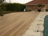 Lame de terrasse IPE 21x145x2150mm 1 face / lisse 1 face rainurée UNIFOREST UWP