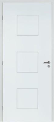 Bloc-porte alvéolaire Klassic prépeint H90 recvt PDDT 73 droite porte
