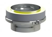 Raccord s/double diamètre 150-200mm réduit 125mm TEN