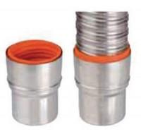 Raccord flexible/rigide inox 316 diamètre 80-86mm TEN
