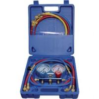 Coffret manomètre R410A + flexible + vanne