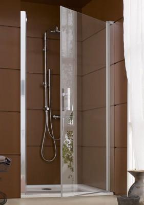 JAZZ porte de douche pivotante 116 LEDA