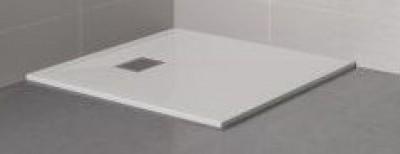 Receveur KINESURF blanc 80x80cm 9cm anti dérapant BLANC