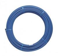 Tube PER nu diamètre 20mm bleu couronne 120m