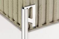 Angle sortant RONDEC aluminium laiton SCHLUTER SYSTEM