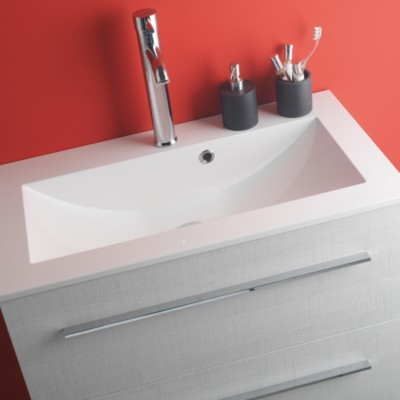 Plan solid susrface solid surface ANCO 600x460mm blanc mat 600x460mm