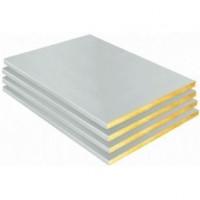 Laine de verre kraft aluminium SHEDISOL PERLE 50mm 1,985x1m ISOVER
